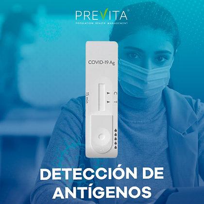 Paquete de 25 Pruebas de detección de Antígenos COVID-19