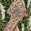 Thumbnail: Rose Gold Embellished Sparkly Flat Slider Sandals