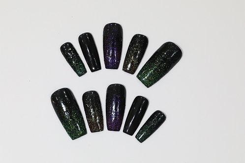 Ready to Ship - Space Nails