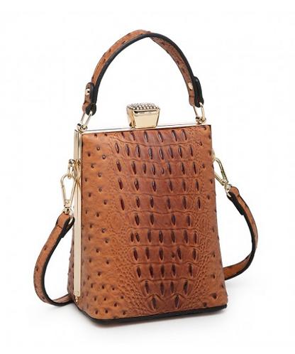 CML Snake Textured Handbag