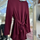 Thumbnail: Burgundy Belted Top