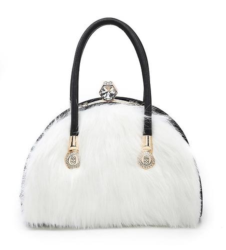 CML Fur Handbag