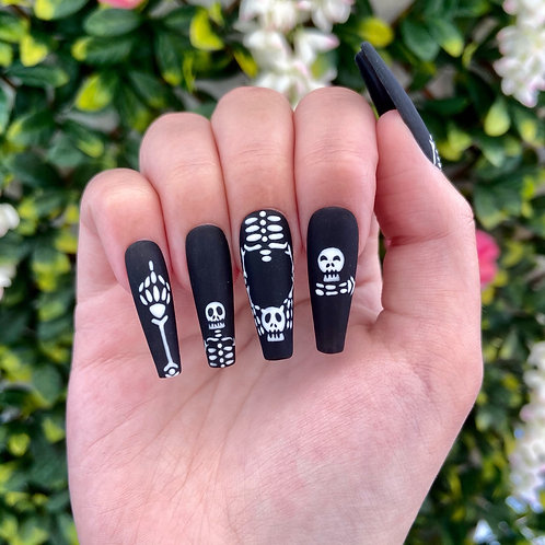 Funny Bones Nails