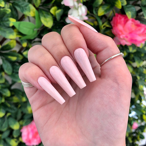Ready to Ship - Baby Pink Nails