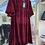 Thumbnail: Burgundy Velvet Dress