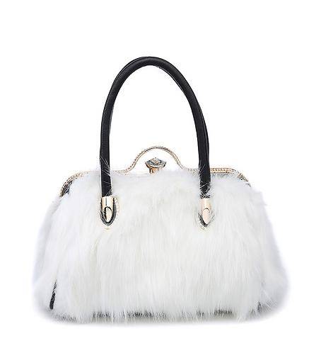 CML Ladies Faux Fur Handbag