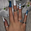 Thumbnail: Blue Butterfly Nails