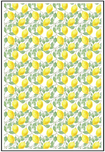 Lemon Nail Decals 2