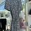 Thumbnail: Belted Mono Print Dress