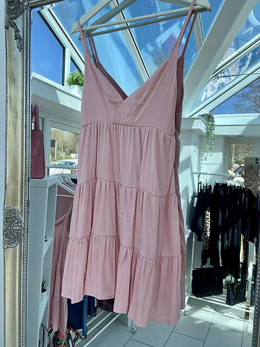 Floral Wrap Cami Dress