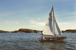 Sweden sailboat