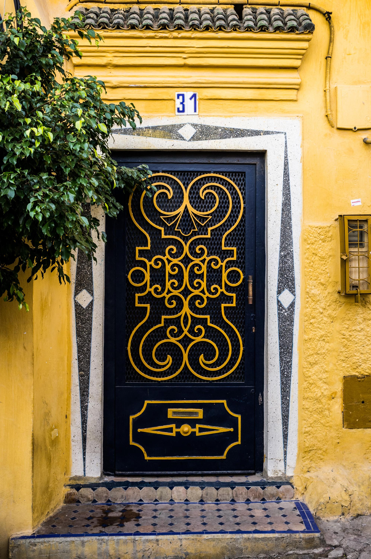 Moroccan doors-1