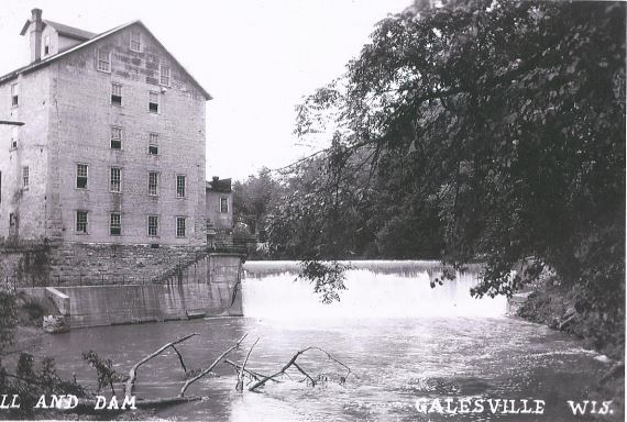 Original Mill in the 1800's