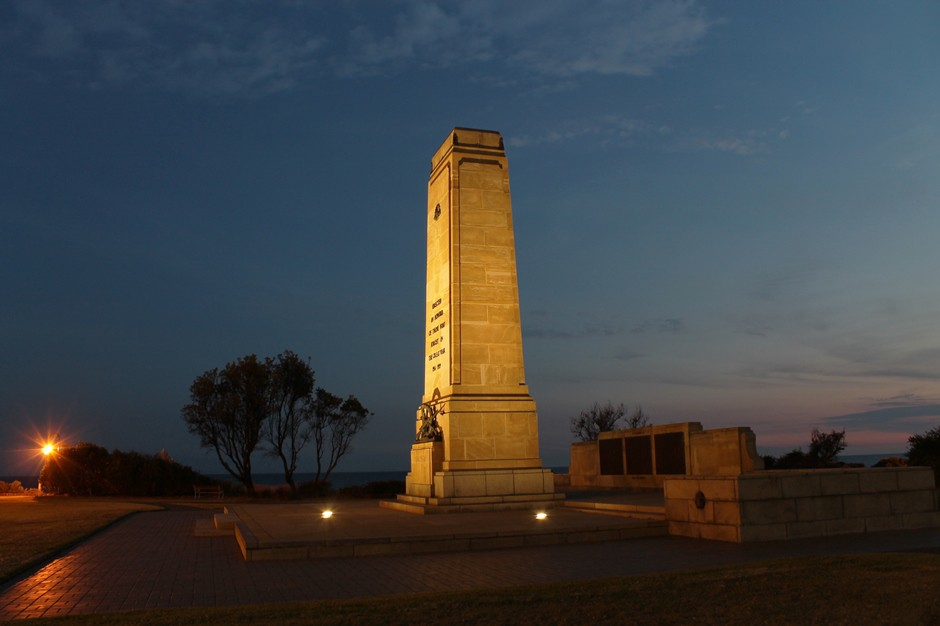 Brighton's Green Point War Memorial