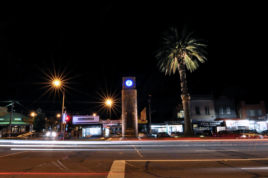 Mordialloc Shopping Precinct - Palm