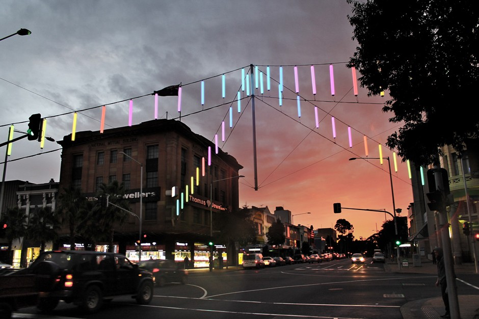 Geelong Catenary Lighting