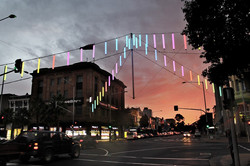Geelong Catenary Lighting