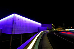 New Virgin Lounge - Facade Lighting