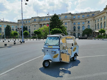 Tuk Tuk Bucharest Pick Up Point