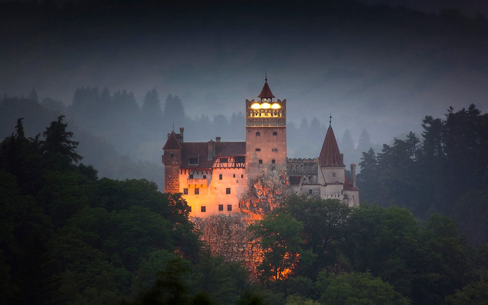 Day trip to Dracula Castle