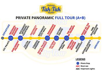 Tuk-Tuk Bucharest Tour Itinerary
