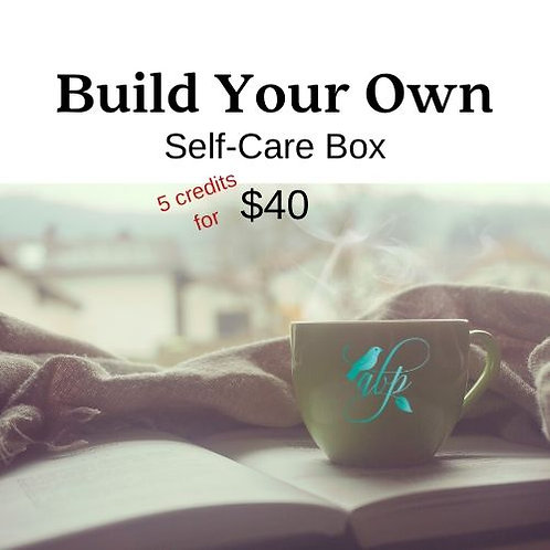 Build Your Own Self-Care Box