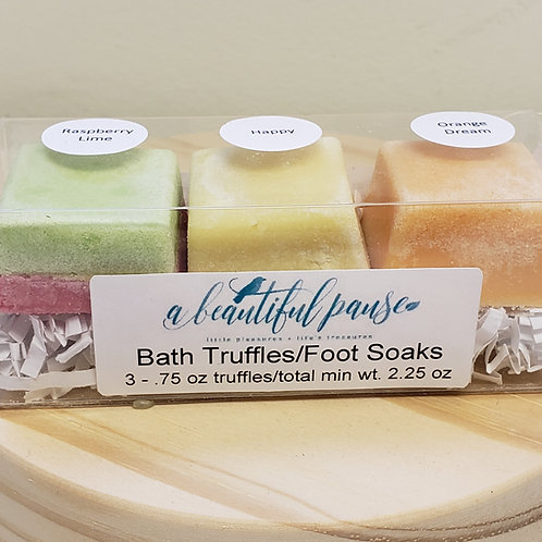 Dream of Summer Truffle Trios - Bath & Foot Soaks