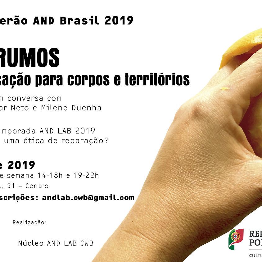Laboratórios de Verão AND Brasil 2019   Outros (Ar)rumos: táticas para a multiplicação de corpos e territórios