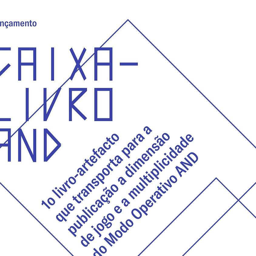 Caixa-Livro AND | Lançamento São Paulo