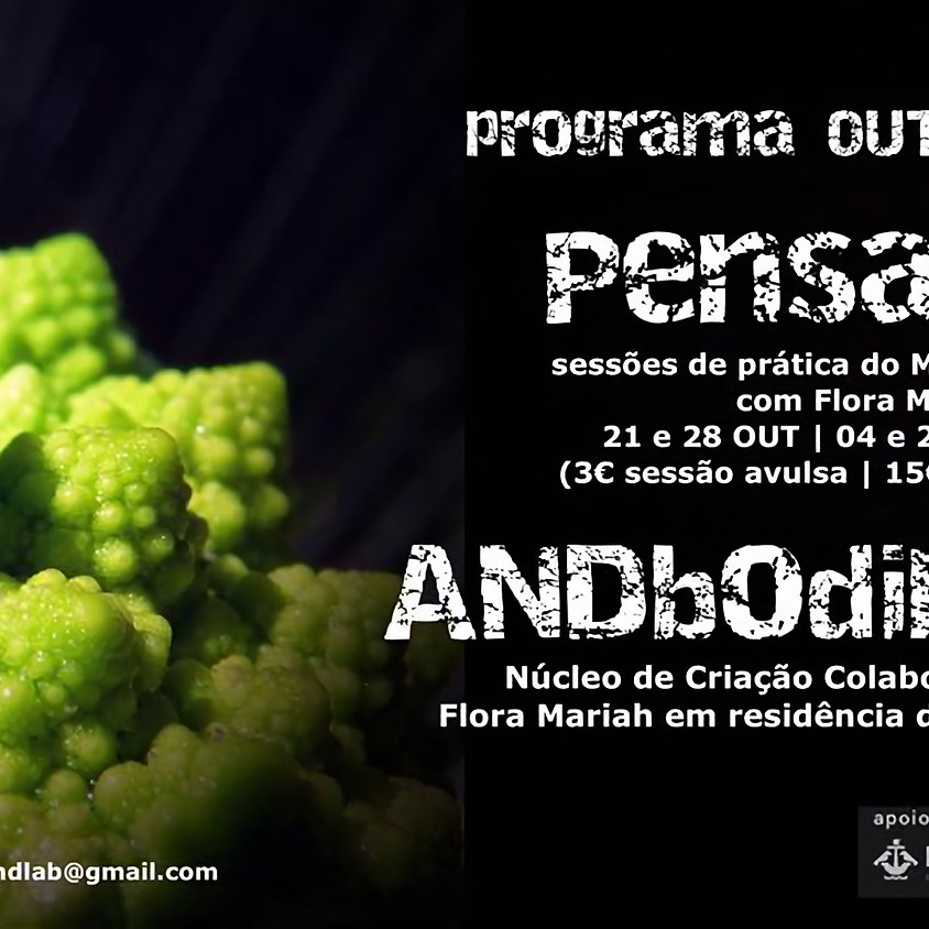 PENSACÇÃO & ANDBODIMENT
