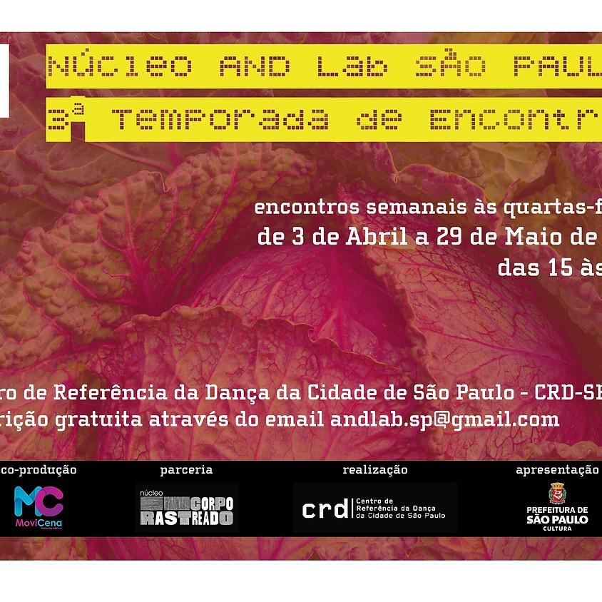 Núcleo AND Lab São Paulo | 3ª Temporada de Encontros
