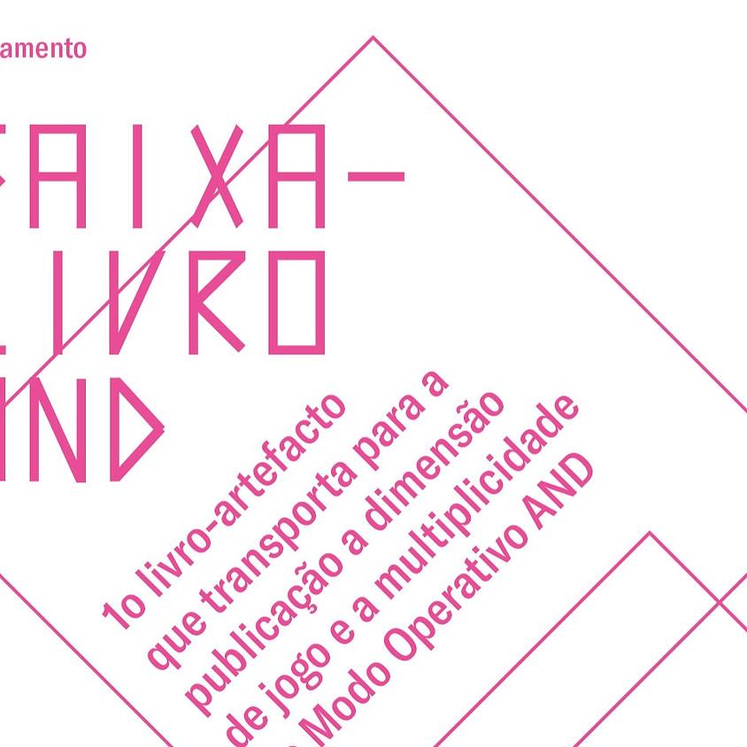 Caixa-Livro AND | Lançamento Rio de Janeiro - Brasil