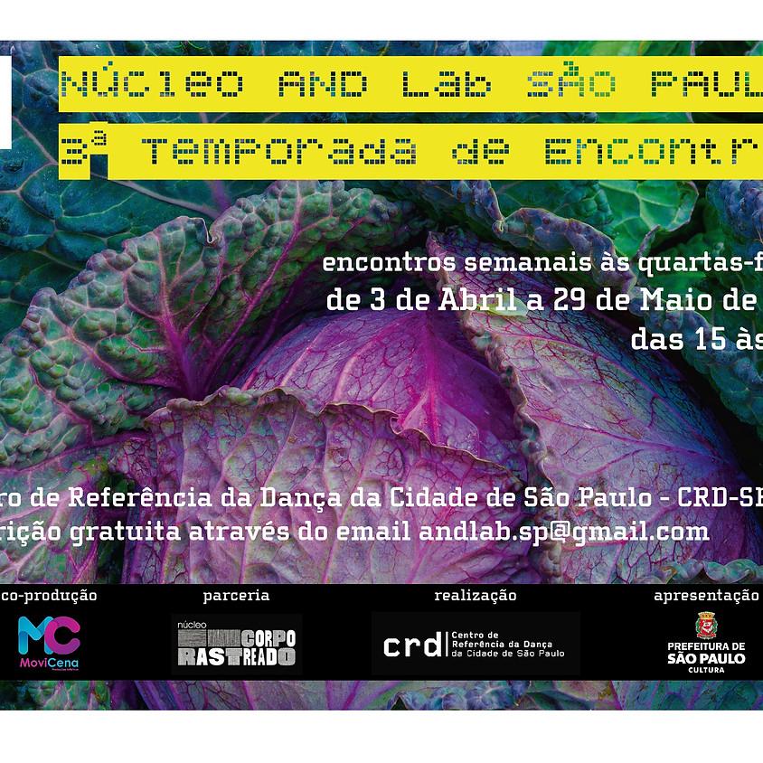 Núcleo AND Lab São Paulo   3ª Temporada de Encontros