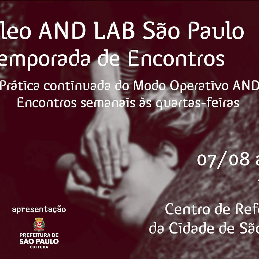 Núcleo AND Lab São Paulo   4ª Temporada de Encontros