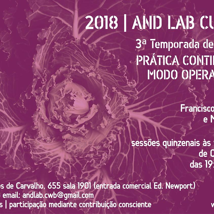 Núcleo AND Lab Curitiba   3ª Temporada de Encontros