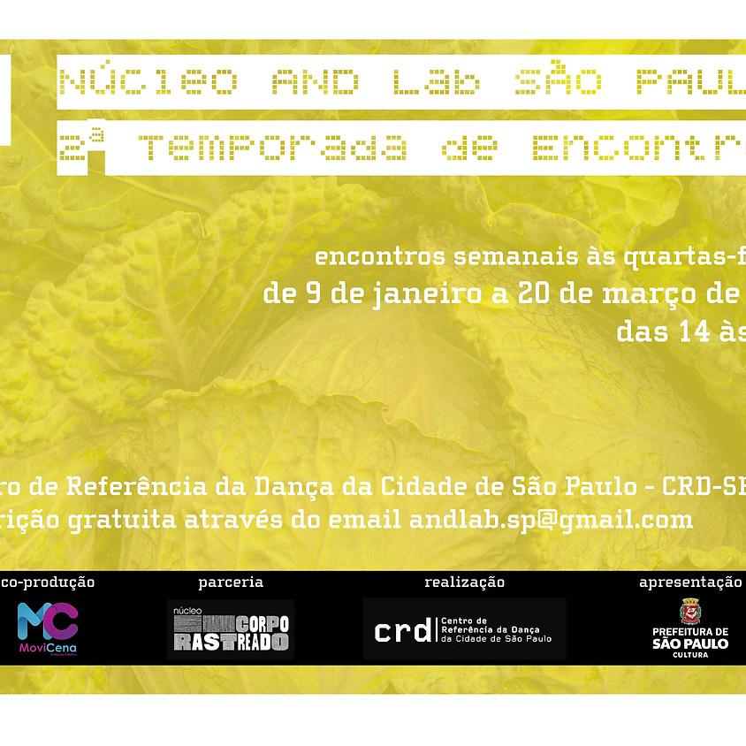 Núcleo AND Lab São Paulo   2ª Temporada de Encontros