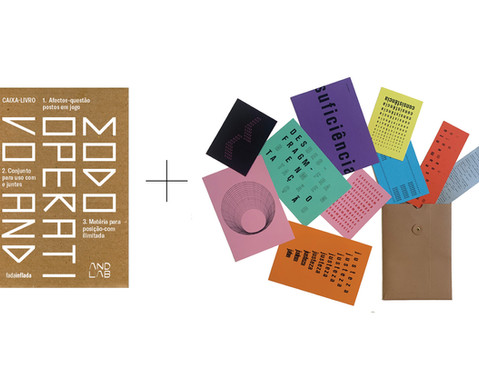 Kit de Lançamento Caixa-Livro AND + Colecção de Postais 'Do Irreparável'