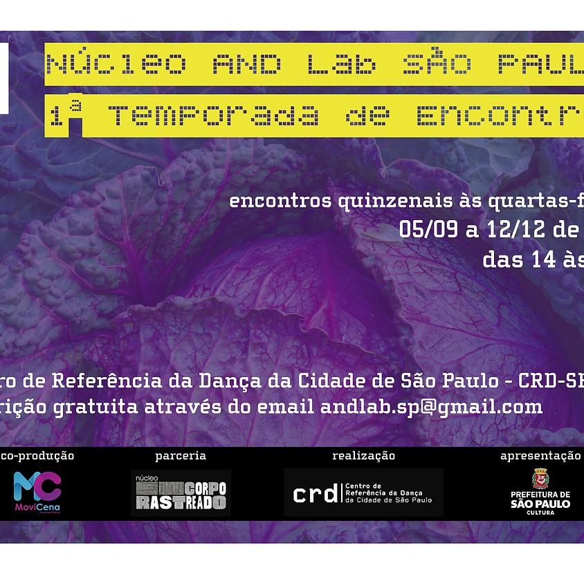 Núcleo AND Lab São Paulo   1ª Temporada de Encontros