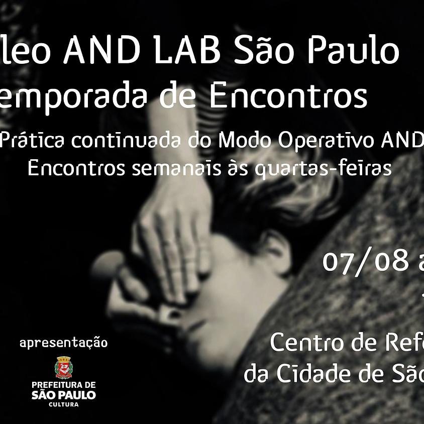 Núcleo AND Lab São Paulo | 4ª Temporada de Encontros