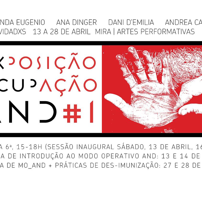 Exposição-Ocupação AND #1