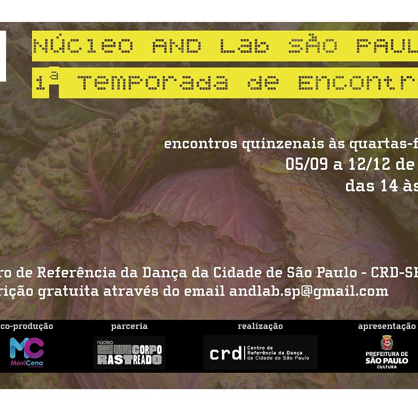 Núcleo AND Lab São Paulo | 1ª Temporada de Encontros