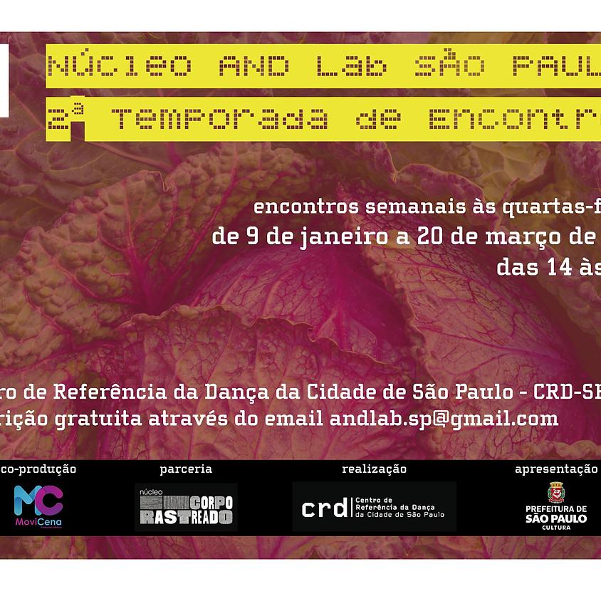 Núcleo AND Lab São Paulo | 2ª Temporada de Encontros