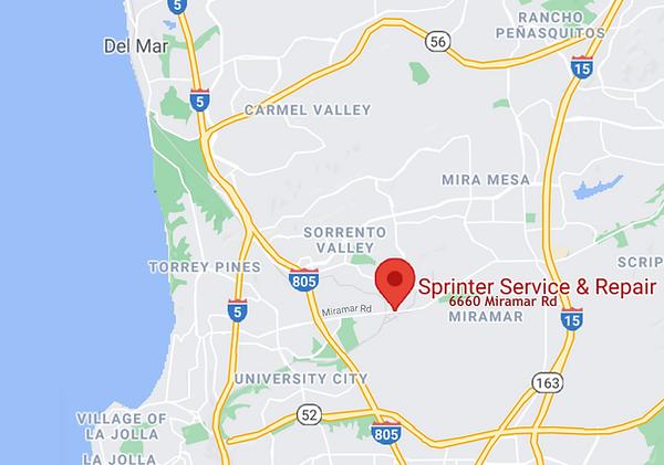 Sprinter Service & Repair San Diego CA M