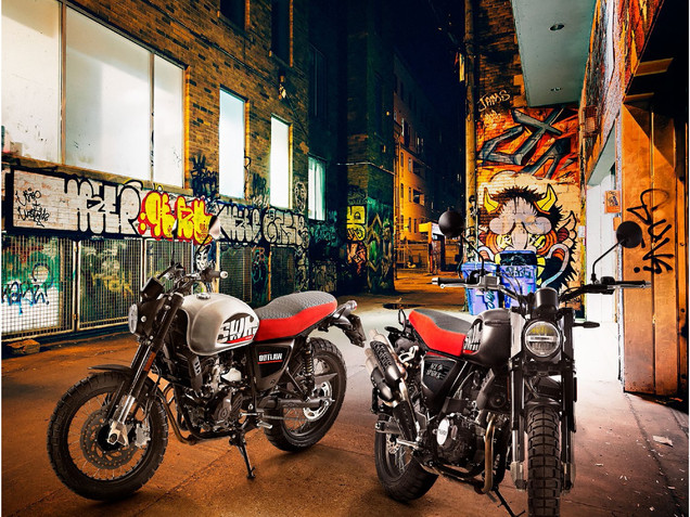 SWM Outlaw & Ace of Spades 125