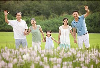Happy family. Photo by Maxicare