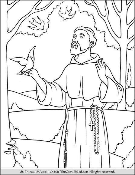 saint-francis-of-assisi-coloring-page (1