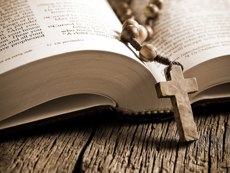 a catholic never reads the bible alone