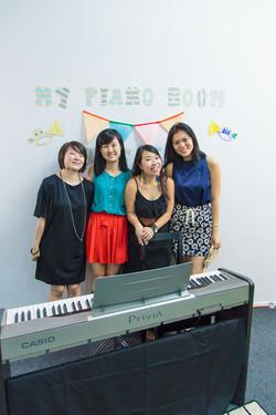 Teachers of My Piano Room