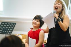 Eka and Teacher Serene