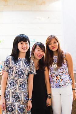Cassandra, Serene and Jasmine